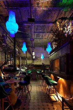 Le Croco Bleu à Berlin, Bar