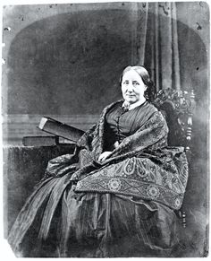 "Elizabeth Gaskell, novelist and biographer of her friend Charlotte Bronte. ""The difference between Miss Bronte and me is that she puts all her naughtiness into her books."""
