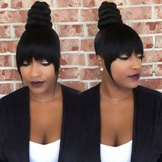 Love This Ninja Bun By Hairbylatise Read The Article Here