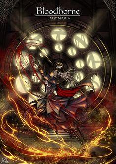 Bloodborne: Lady Maria by Osmar-Shotgun