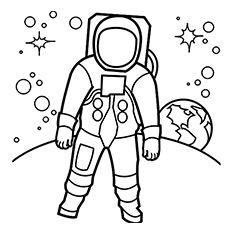 Eva Ile Astronot Ve Uzay Mekiği Sevimli Resim çerçeveleri