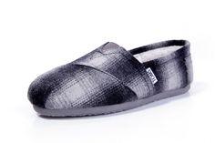 Toms Woolen Women's Classics Black White