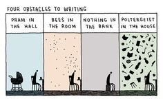 "Tom Gauld's Brilliant Literary Cartoons Blur the Artificial Line Between ""High"" and ""Pop"" Culture 