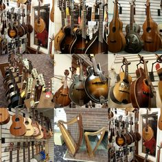Our selection is massive........and unique! We have a large sales floor, and a super knowledgeable staff. Musicians helping musicians!  www.elderly.com   888-473-5810