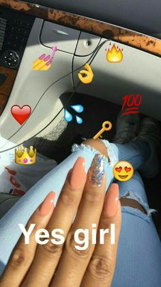 In seek out some nail designs and ideas for your nails? Here's our list of 15 must-try coffin acrylic nails for trendy women. Gorgeous Nails, Love Nails, How To Do Nails, Pretty Nails, Acrylic Nail Designs, Nail Art Designs, Acrylic Nails, Acrylics, Nails Ideias