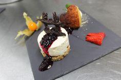 Tarte de Requeijão com cheesecake de Frutos vermelhos
