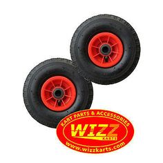2 x go kart #trolley / jockey wheels pneumatic #260mm #(10inch) fishing buggy,  View more on the LINK: http://www.zeppy.io/product/gb/2/281867095635/