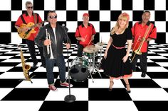 """Oldies Band Orlando and Fifties Band Orlando, """"Chrome '57 Band"""" based out of Orlando, Florida plays 50's, Oldies, Rock, Pop and Party tunes. www.bandorlando.com Grease Theme, Corporate Entertainment, Sock Hop, Party Themes, Theme Parties, Him Band, Vintage Costumes, Chrome, Palm Beach"""