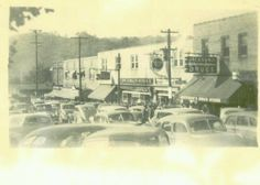 Front Street in Richlands Virginia