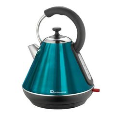 Shop for Emerald Green Pyramid Kettle from our Kitchen Appliances. Match with our green kitchen accessories for a vibrant kitchen. Aquamarine Blue, Emerald Green, Small Appliances, Kitchen Appliances, Green Kitchen Accessories, Colour Schemes, Kitchenware, Kitchen Dining