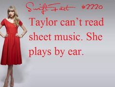I think this is impressive but kids dissapointing cuz i think it is important to read sheet music Long Live Taylor Swift, Taylor Swift Facts, Taylor Swift Quotes, Taylor Alison Swift, Red Taylor, Role Models, Bffs, My Idol, Queens