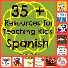 35+ Spanish Teaching Resources for Kids | Teach Beside Me blog