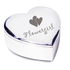 flowergirl gifts | ... Thank You Gifts  Gifts for Flower Girls  Flower Girl Heart Trinket