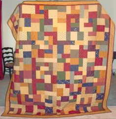 Tuscan Scrappy Quilt by dkimball07