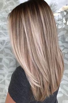 Hair Styles 2018 51 Ultra Popular Blonde Balayage Hairstyle & Hair Painting Ideas Discovred by : Style Estate Ombre Hair Color, Hair Color Balayage, Brown Hair Colors, Balayage Hairstyle, Blonde Color, Brown Hair Blonde Balayage, Hair Colours, Dirty Blonde Hair Ashy, Best Hair Color