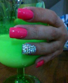 Nails, salmón nails,