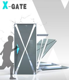 X-gate – Earthquake Proof Door by Ying-Hsuan Lee - The X-gate addresses one of the biggest situations faced in the aftermath of an earthquake: entrapment. The X-gate's design is such that it can be shattered with ease, thus aiding rescue operations. Read more at http://www.yankodesign.com/2014/05/28/in-case-of-emergency-%e2%80%93-break-door/#dYr6gVwAg1yefcei.99