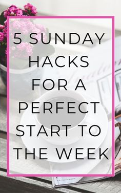 How to have a perfect start to the week: make the most out of your Sunday's! These helpful productivity tips and life hacks will have you all set! Sunday Routine, Morning Routines, Survival Tips, Survival Videos, College Survival, Life Advice, Life Tips, Time Management Tips, Stress Management