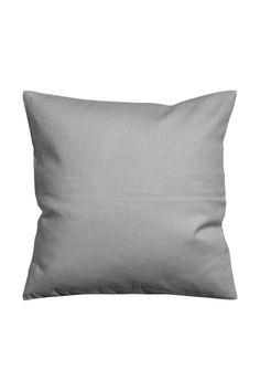 Płócienna poszewka na poduszkę: Poszewka na poduszkę z bawełnianego płótna z krytym suwakiem.