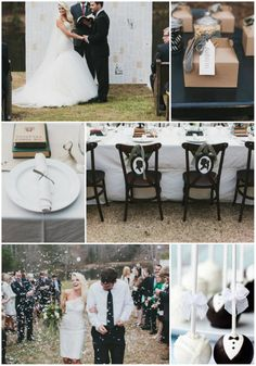 Classic Black And White Wedding And Wedding Invitations Inspirations -InvitesWeddings.com