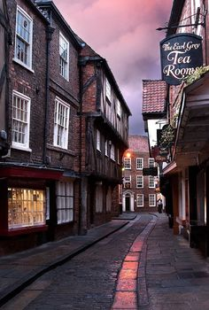 The Shambles (official name Shambles) is an old street in York, England, with… Oh The Places You'll Go, Places To Travel, Places To Visit, York England, York Uk, Brighton England, Beau Site, Old Street, England And Scotland