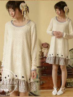 love to layer dress $31 #asianicandy #morigirl #kawaii