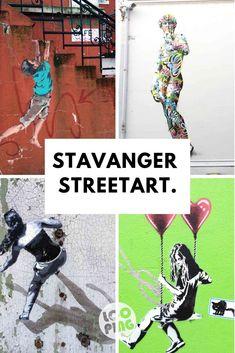 New York, London, Stavanger! Streetart in Stavanger Stavanger, Reisen In Europa, Wave Pattern, Paris Hilton, Tel Aviv, Art Festival, Urban Art, Small Towns, Norway