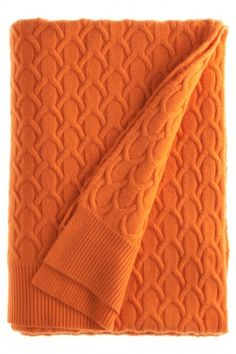 Cashmere blanket for the plane. Orange You Glad, Orange Is The New, Cashmere Wool, Cashmere Scarf, Color Naranja, Orange Crush, Orange Color, Orange Shades, Happy Colors
