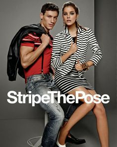 Gas Jeans Spring/Summer 2014 featuring Barbara Palvin and Mariano Ontanon