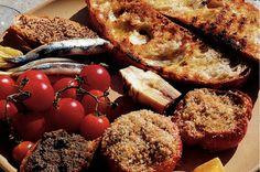 Kijk wat een lekker recept ik heb gevonden op Allerhande! Bruschetta met tomaat en basilicum