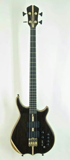 The amazing Unicorn Artist 3200 bass made by Luthier Christian Olsson .