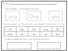 This is how my kids practice their Spanish high-frequency words! Even though Spanish is a phonetic language, having a strong sight vocabulary = better reading and comprehension. Bilingual Kindergarten, Bilingual Classroom, Bilingual Education, Preschool Teachers, Spanish Classroom, Preschool Kindergarten, Spanish Words, Spanish Lessons, Teaching Spanish
