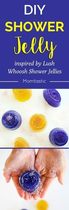 This is an easy recipe for making your own DIY shower jelly just like the ones you see at LUSH! Five bucks in supplies and a few hours in the refrigerator will get you the products that will make you all shiny and smelling good. Let's do this.