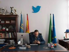 A cidade espanhola que funciona à base de Twitter