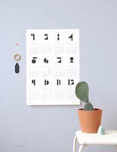 20 Creative Desk And Wall Calendars For Welcoming The New Year
