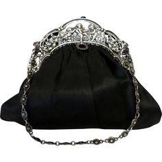 7fb37af7cd10 30 Best Silver purses images | Party bags, Vintage handbags, Vintage ...