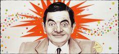 Mr Bean, posca, crayons, stylos pigment liner.