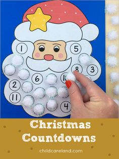 Wonderful Christmas Centers For Kindergarten Christmas for Kindergarten This article is about Christmas centers for kindergarten and anything related to this topic. Christmas time always puts a little bit of a hop in your step Early Learning Activities, Sensory Activities, Classroom Activities, Activities For Kids, Christmas Countdown, Christmas Time, Christmas Ideas, Decor Crafts, Holiday Crafts