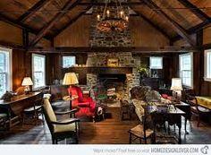 Znalezione obrazy dla zapytania cottage house inside