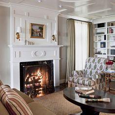 Idea, Fireplace Design, Fireplace Mantels, Fireplaces, Fireplace Mantle, Living Room Designs, Living Room Fireplace, Traditional Living Rooms, Photo