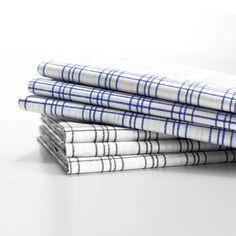 Blau und Grau Towel, Grey