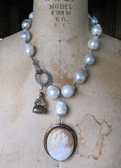 Heirloom Cameo Necklace