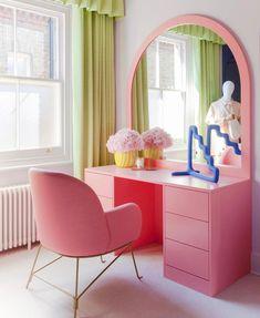 Room Ideas Bedroom, Bedroom Decor, Quirky Bedroom, Bedroom Shelves, Bedroom Signs, Pastel Room, Aesthetic Room Decor, Home Interior, Danish Interior