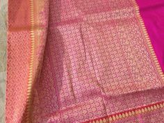 Tanchoi silk saree - banarasi bunkar