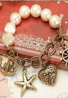 DYI Jewelry Inspiration! - Beach Bound Charm Bracelet