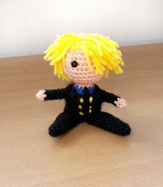 Sanji One Piece Amigurumi doll by TheRainbowHook on Etsy