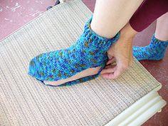 Ravelry: Origami Turkish Socks pattern by Deborah E. Burger