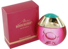 Miss Boucheron is a women's perfume launched in 2007 by Boucheron, which includes notes of pink pepper, bergamot, cyclamen, pomegranate, violet and rose over a base of cedar, white daim and musk.