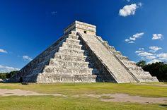 El Castillo in Chichén Itzá, Yucatán, Mexico