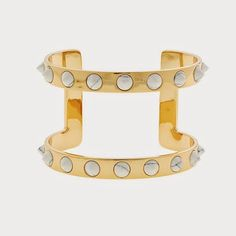 the sparkly life: Obsessed: J. Crew Contoured Spike Cuff (On Sale!)